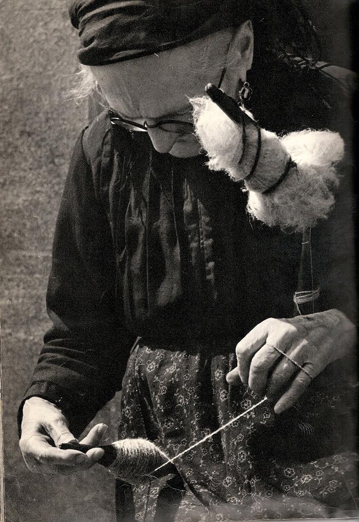 Tessitura filare lana